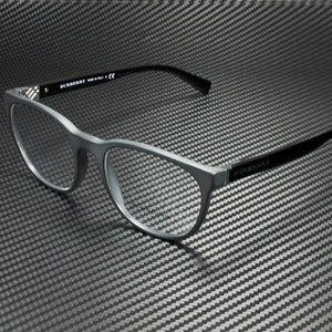 Burberry Matte Black 54mm Sunglasses! NIB!